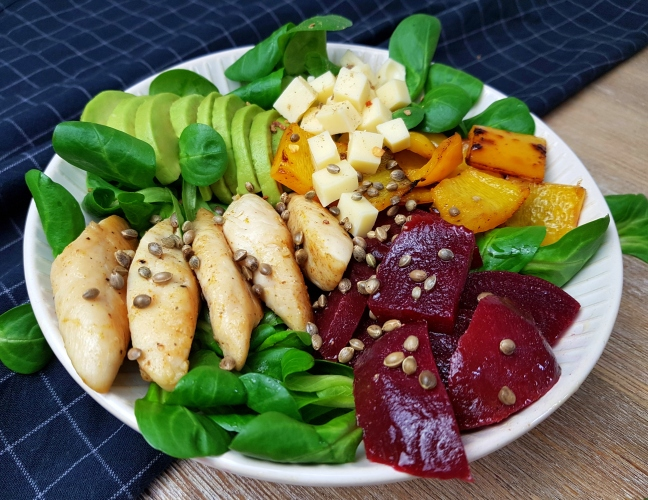 Buddha Bowl low carb