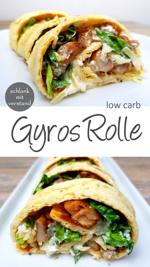 Gyros Rolle low carb