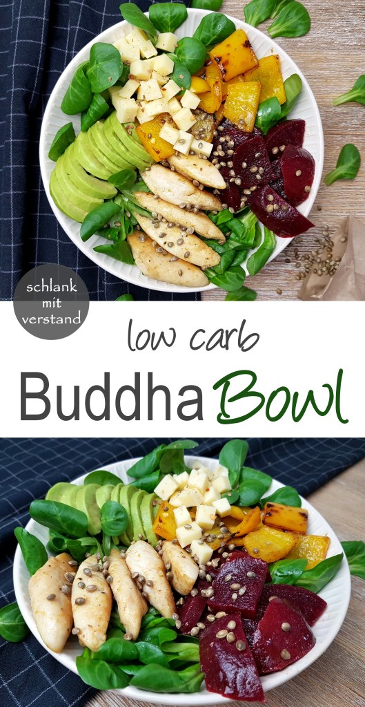 low carb Buddha Bowl