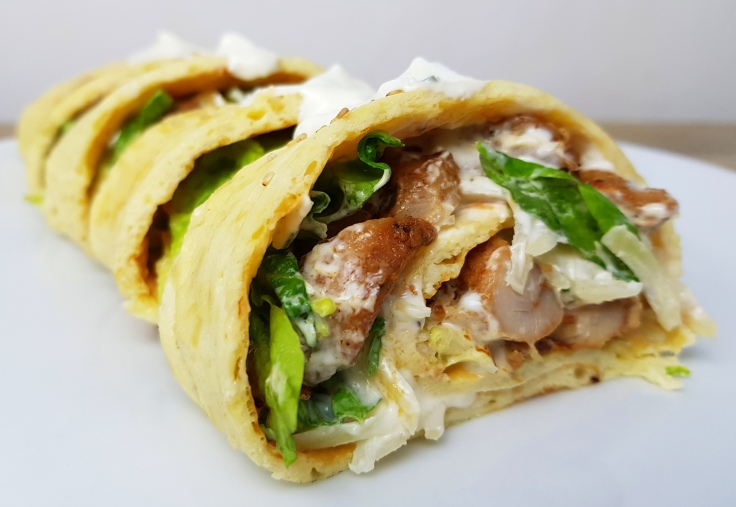 low carb Gyros Rolle Rezept
