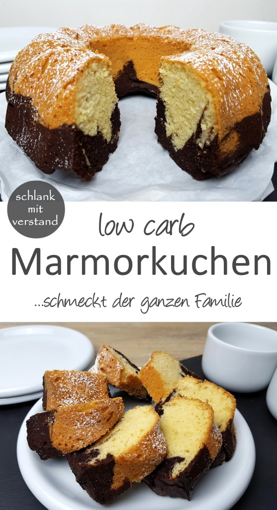 low carb Marmorkuchen