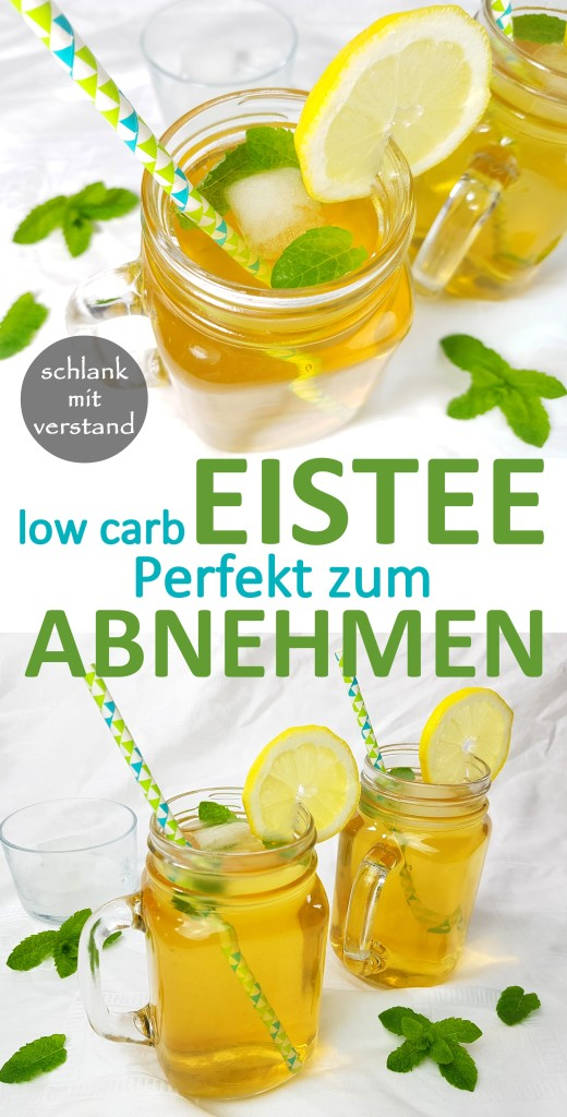 Eistee low carb selber machen
