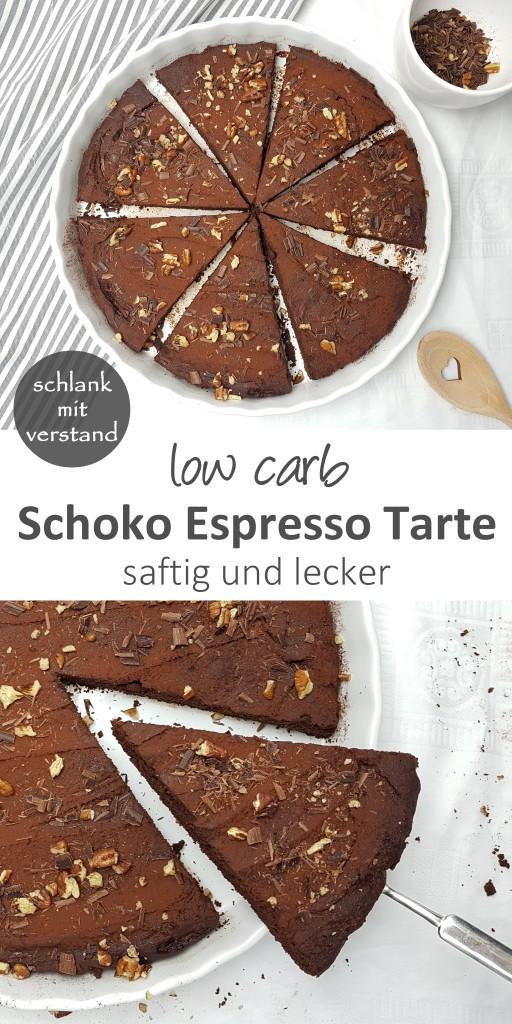 Schoko Espresso Tarte low carb