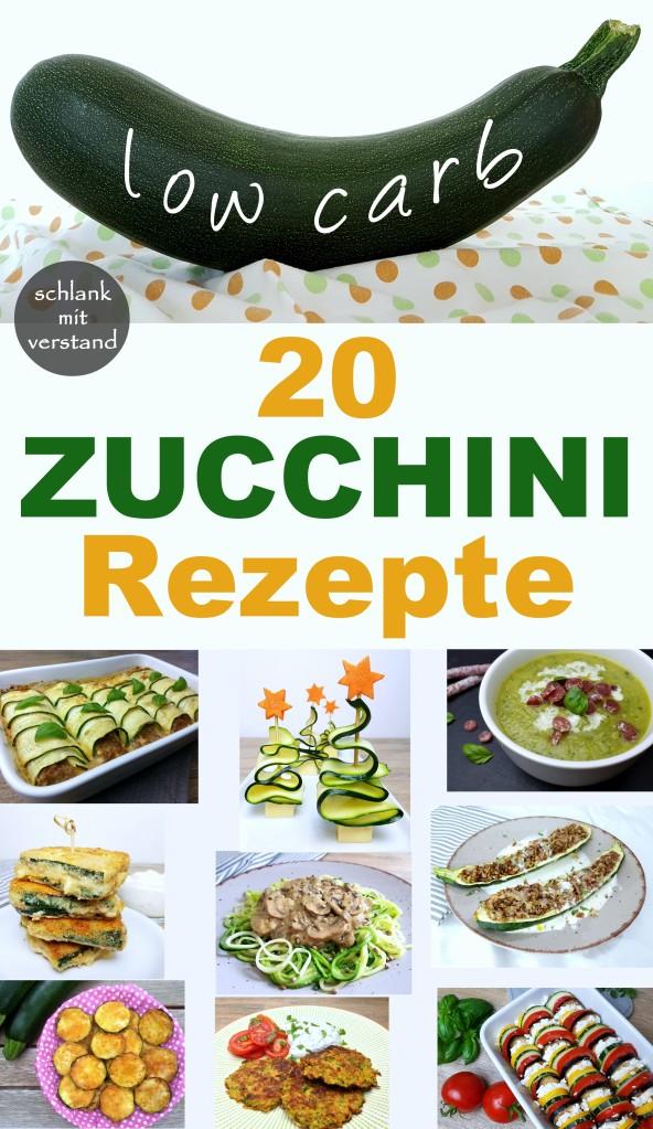 20 Zucchini Rezepte