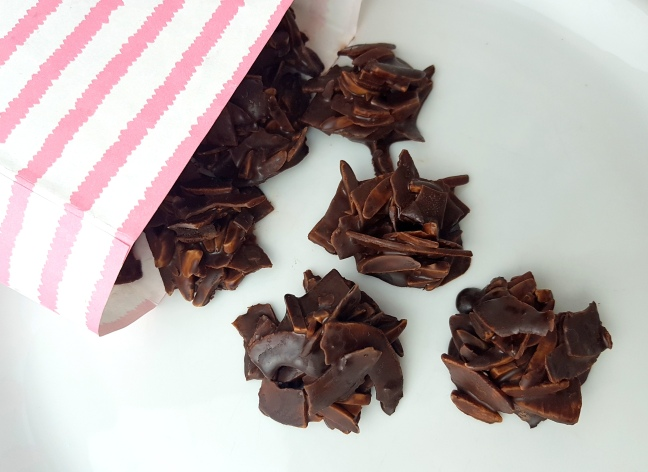 Kokos Mandel Crossies Rezept