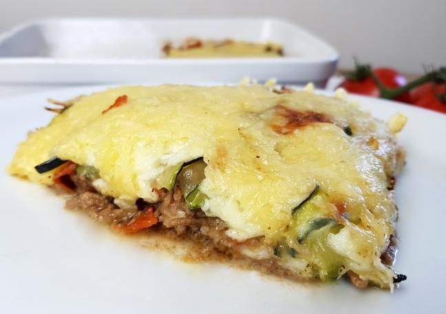 low carb Zucchini Lasagne Rezept