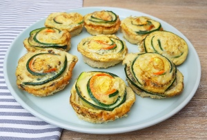 Zucchini-Karotten Muffins