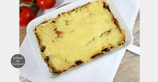 Zucchini Lasagne low carb