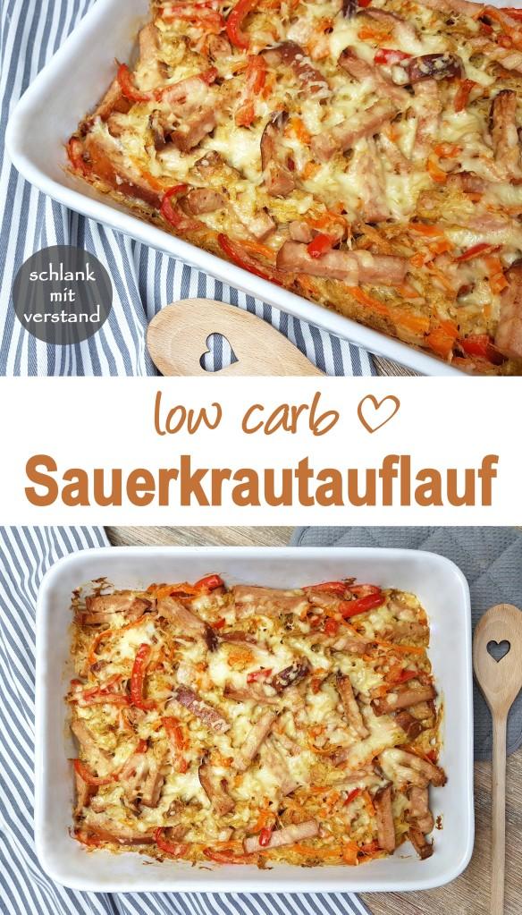 Sauerkrautauflauf low carb Rezept