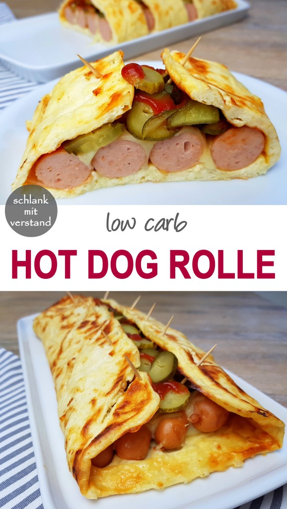 Hot Dog Rolle low carb