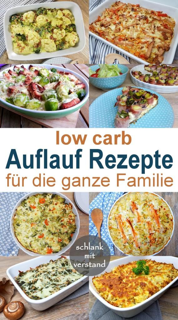 low carb Auflauf Rezepte für die ganze Familie