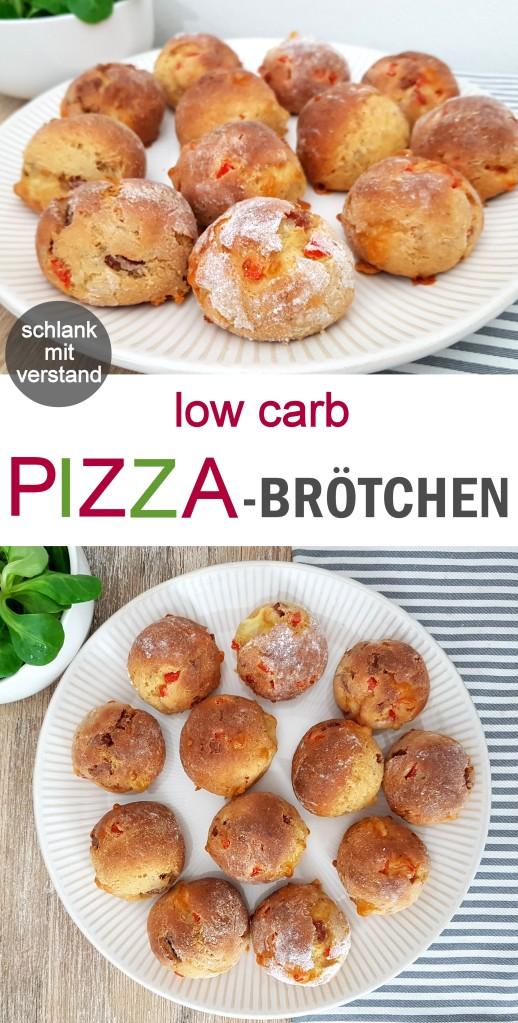 Pizzabrötchen low carb