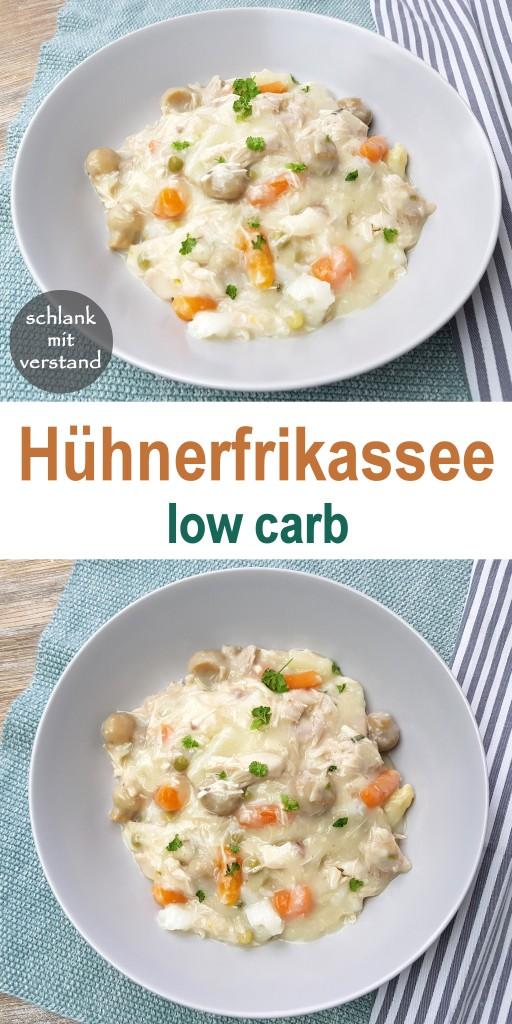 Hühnerfrikassee low carb