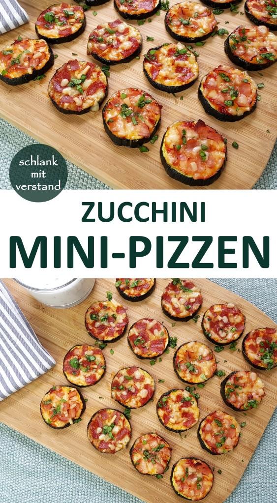 Zucchini Mini-Pizzen low carb