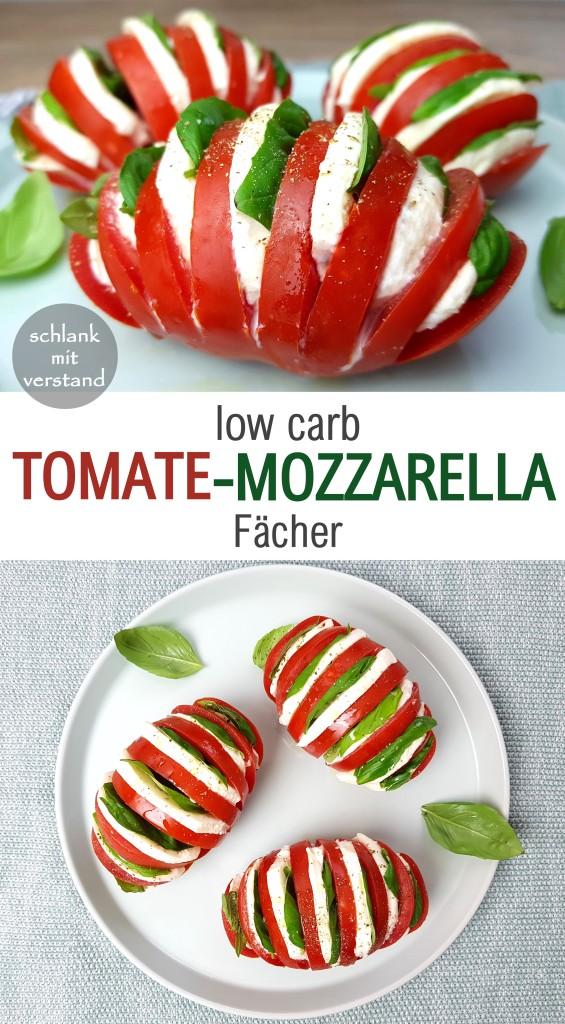 Tomate-Mozzarella Fächer
