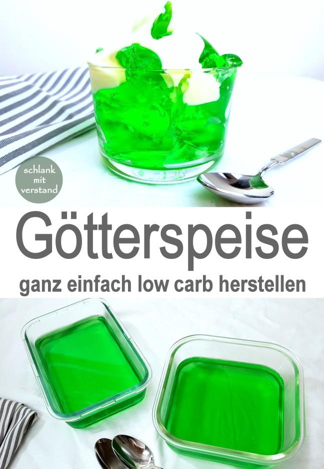 Götterspeise low carb