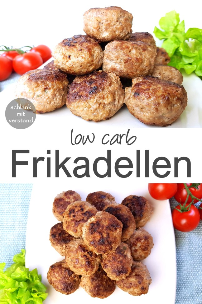 low carb Frikadellen