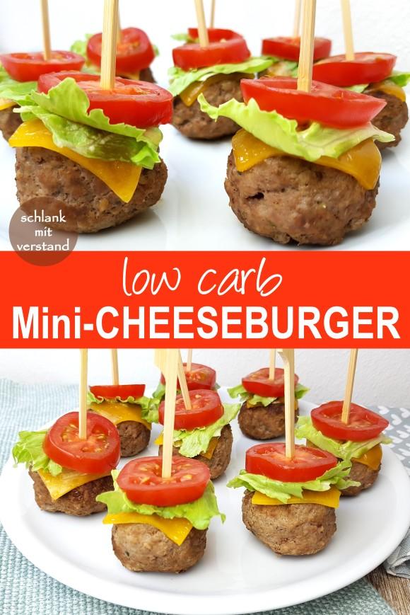 low carb Mini Cheeseburger