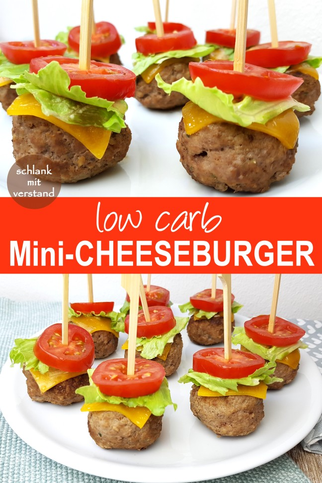 low carb Mini Cheeseburger